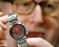 This Rolex belonging to Paul Newman, was made in 1969 and priced at $384,700 at a 2005 auction in Hong Kong