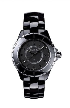 *Chanel J12 Intense Black 33MM