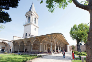 Topkapi Palace, a former residence of the Ottoman sultans