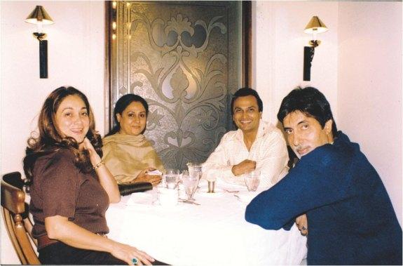 Tina Ambani, Jaya Bachchan, Anil Ambani and Amitabh Bachchan at the hotel