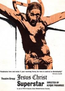 Poster art for Padamsee's JCS