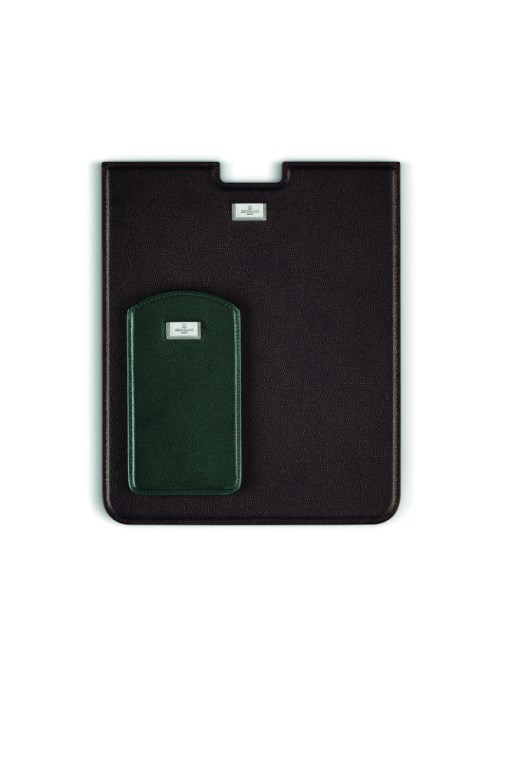 iPad case and iPhone cover by Corneliani