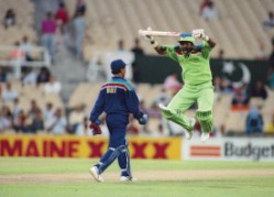 Javed Miandad never needed words to sledge