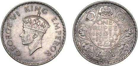 king-george-vi-one-rupee-coin