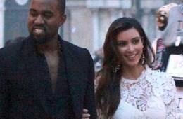 Kanye West, Kim Kardashian, celebrity, baby