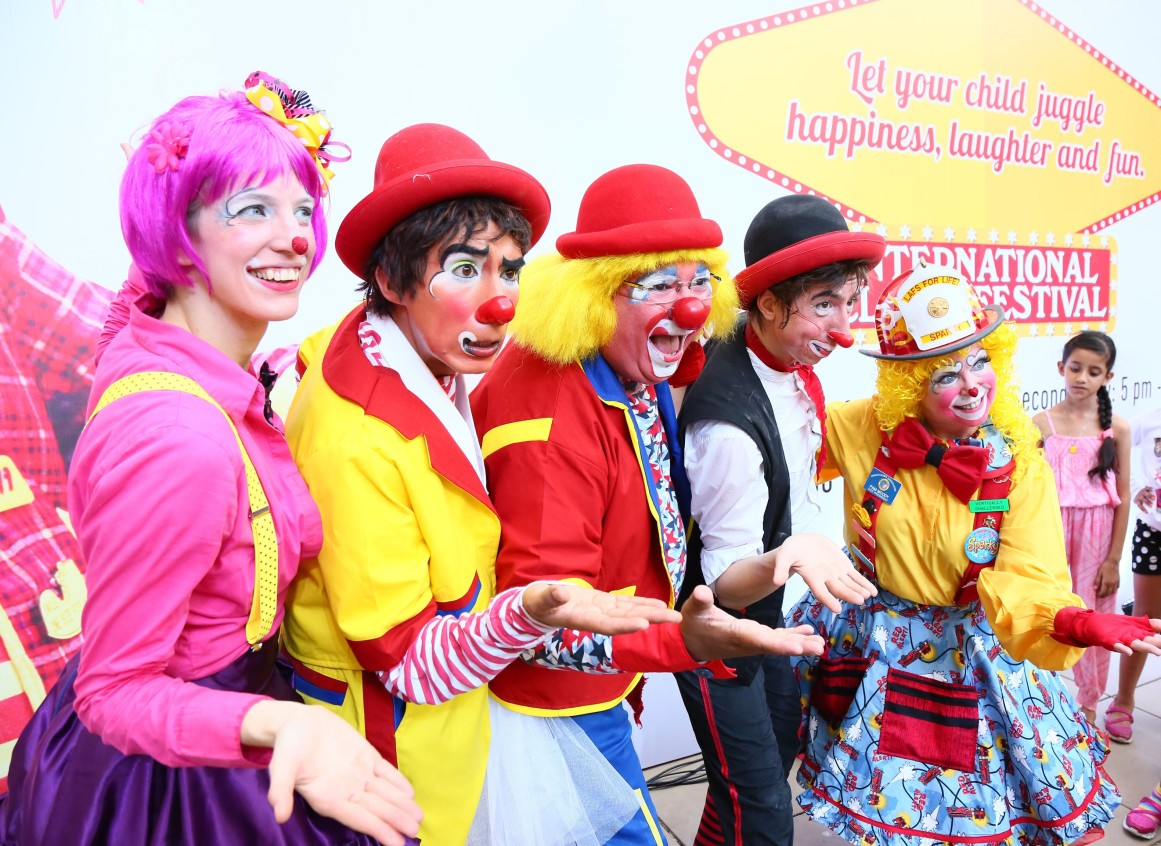 High Street Phoenix hosted the 4th edition of International Clown Festival