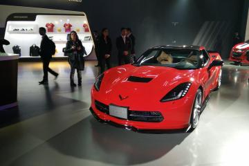 The stunning Chevrolet Corvette C7