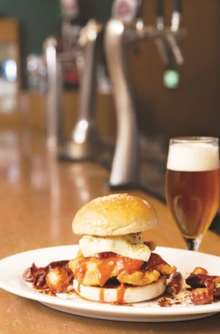 Four Zero One to T Burger — Woodside Inn, Mumbai