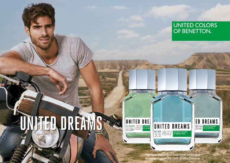 United Dreams Presents The New Masculine Fragrance Collection