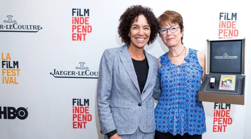 LA Film Festival Director Stephanie Allain and Cinematographer Maryse Alberti - Jaeger-LeCoultre Glory to the Filmmaker Award - GettyImages Nina Ham