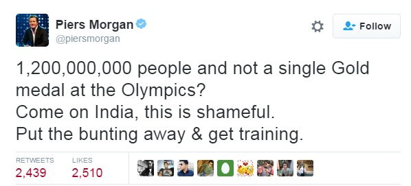 Piers Morgan on Twitter