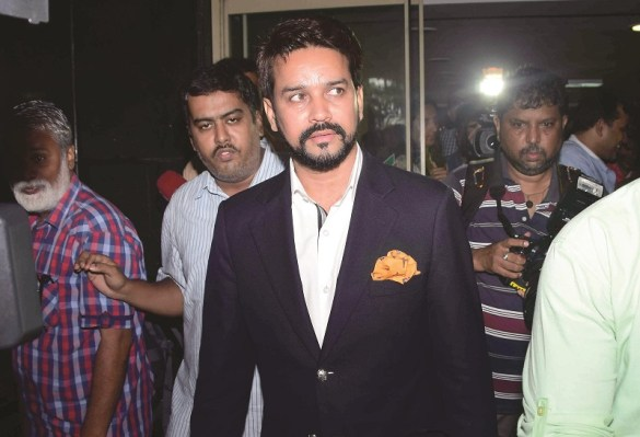 board-of-control-for-cricket-in-india-president-anurag-thakur-attending-H34CCR