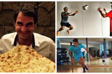 Roger Federer Fitness
