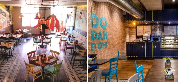 The Fatty Bao Doh Mumbai interiors
