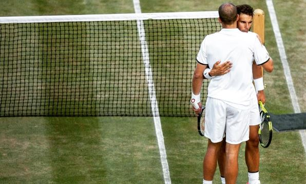 Graceful Rafa Nadal Sets Example For Tennis' Bad Boys After 4th Rd Wimbledon Exit