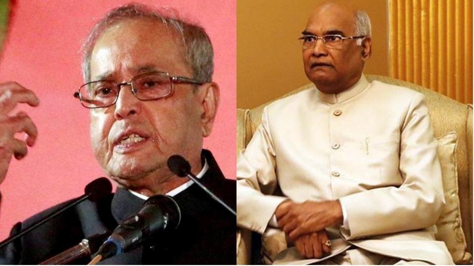 Pranab Da Schools President Ram Nath Kovind: 'Can't Deny Multiplicity Of Opinion'