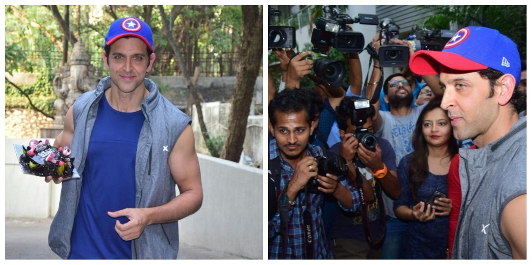 IMAGES: You Won't Believe How Hrithik Roshan Celebrated His 44th Birthday With His Fans