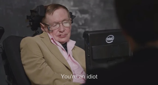Looking Back at the Late Stephen Hawking's Hilarious Interview On Last Week Tonight