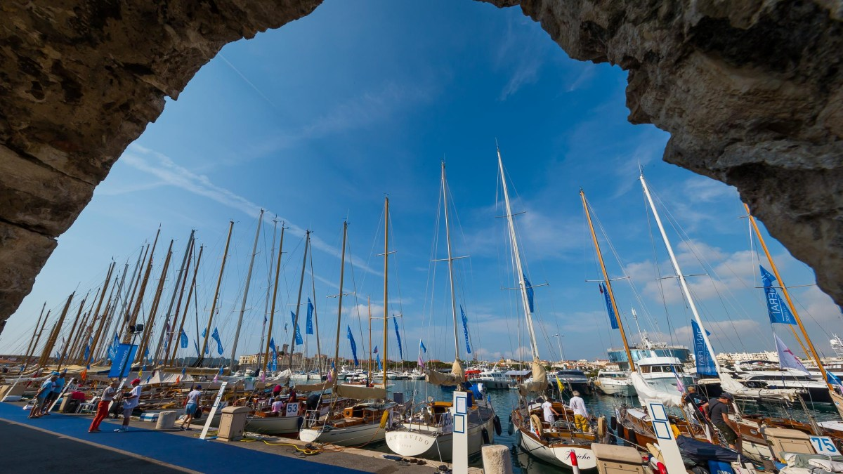 Les Voiles d'Antibes: 80 Yachts Gather For 14th Panerai Classic Challenge