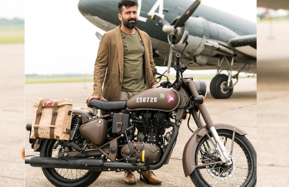 New Limited Edition Royal Enfield Classic 500 Pegasus Takes Inspiration From WWII Era