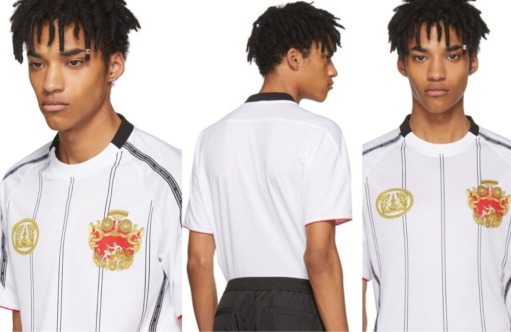 Prepare For The World Cup In Style With Versace's Football Jersey
