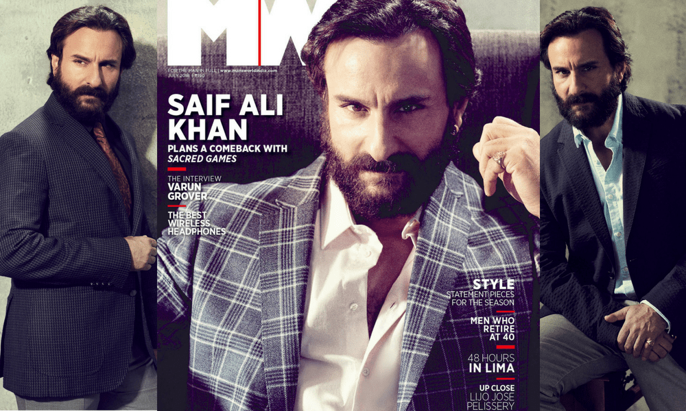 #CoversOf2018: From Sartaj In Sacred Games To A Naga Bounty Hunter In His Next, Saif Ali Khan Talks About Experimenting