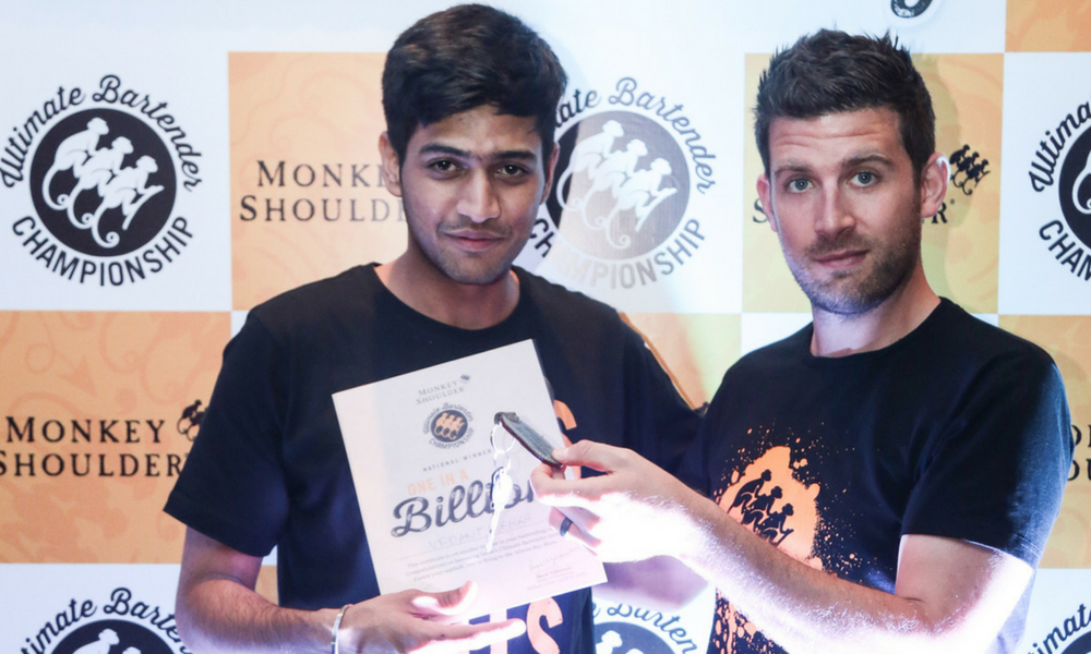 9 cities, 550 contestants, India finds the Ultimate Bartender –  Vedant Mehra