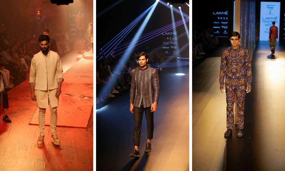 The Best Menswear Collections At Lakmé Fashion Week Winter Festive'18