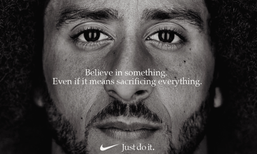 Monumental! Nike Backs NFL Rebel Colin Kaepernick With 'Just Do It' Campaign