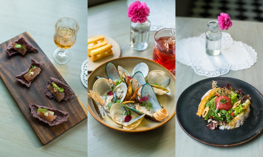 For The Love And Taste Of The Sea At Slink & Bardot