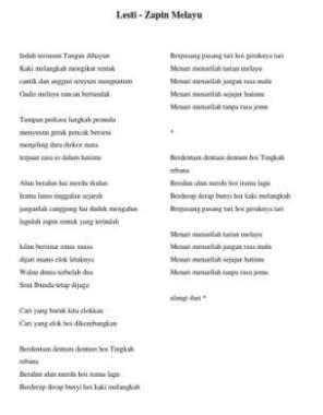 Lirik Lagu Indung Indung versi Penyanyi Asli, Lagu Daerah