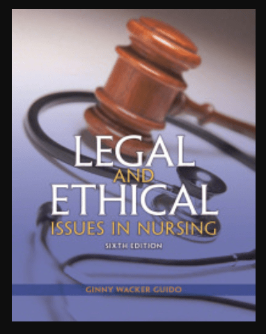 Image of Legal and Ethical Issues in Nursing 6th Edition, pdf, ebook and download by Ginny Wacker Guido