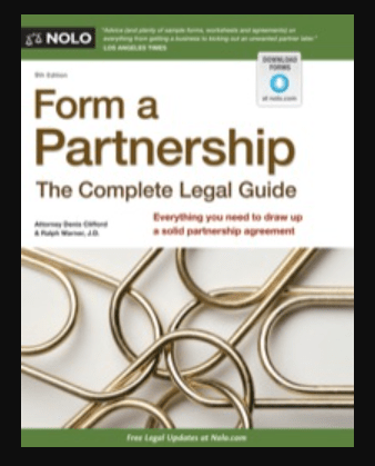 Image of Form a Partnership: The Complete Legal Guide 9th edition,pdf, ebook, download by Ralph Warner Attorney and Denis Clifford