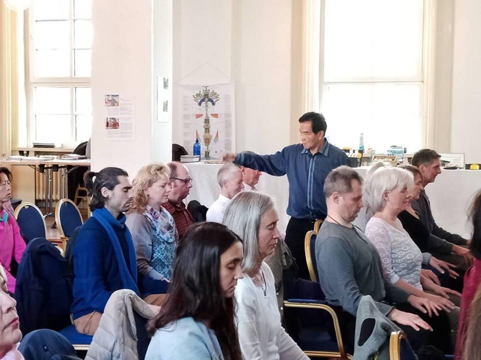European Fall 2018 in Frankfurt, Germany – Mantak Chia with students