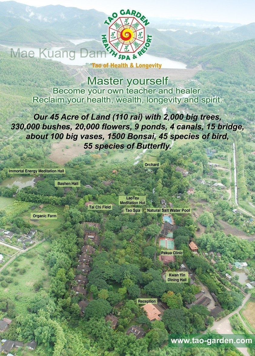 Tao Garden Chiang Mai Map