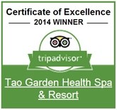tao garden awards – Certificate of Excellence 2014 TripAdvisor.com