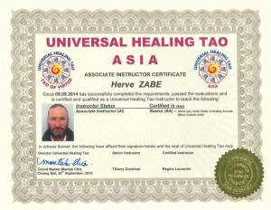UHT Certification Copies – Herve Zabe