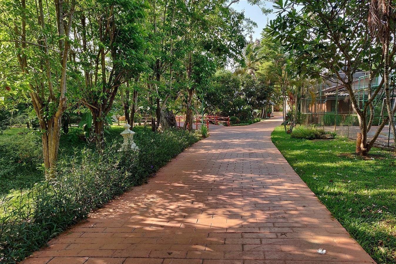 Tao Garden Health Resort and Spa – Jogging Path
