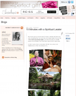 15 Minutes with a Spiritual Leader