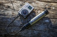 The small nifty Switch 10 recharger powers your GoPro just perfectly
