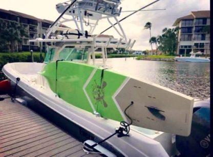 paddleboard rack boat