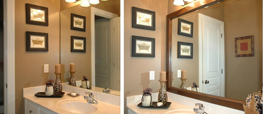 mirror frames | bathroom mirrors