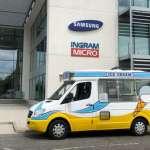 Corporate Ice Cream Van for Hire