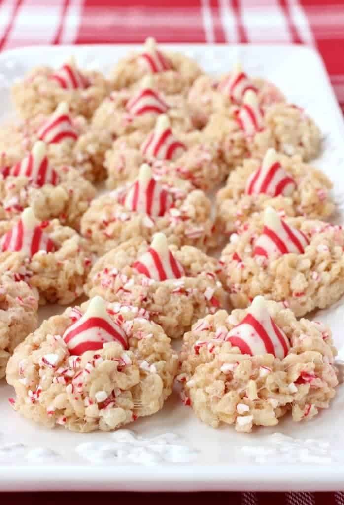Rice Krispies Peppermint Blossoms are such an easy holiday cookie to make!