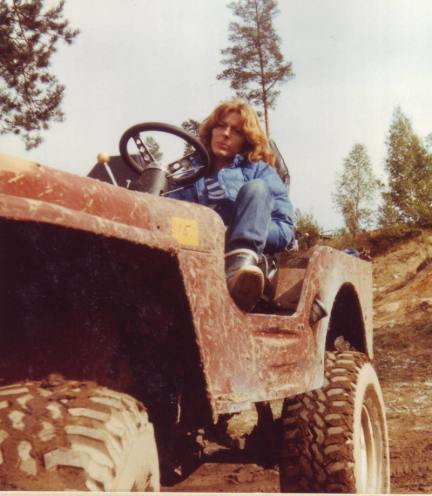 Ellen i Mortens JEEP