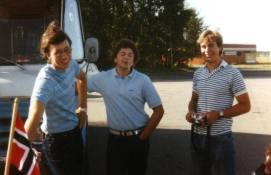 Kjell, Morten og Ole pa tur