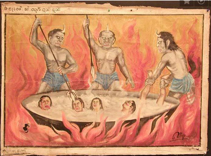 hell in hindu