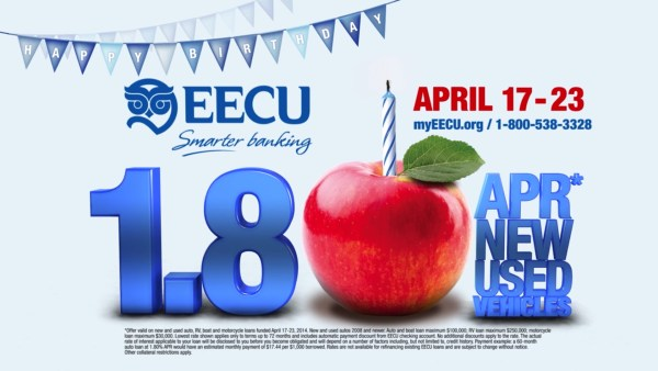 EECU - 1.8% Birthday APR