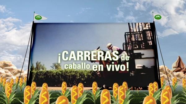 Big Fresno Fair - Horse Racing Spanish