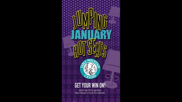 Table Mountain Casino - Jumping January Vertical